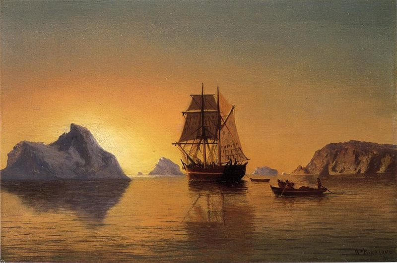 Bradford William. An Arctic Scene. 1881