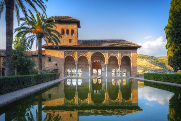 Дворец Альгамбра. Гранада, Испания © Дмитрий Кутлаев