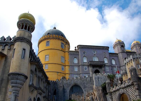 Дворец Пена в Синтре, Португалия © Светлана Колобова