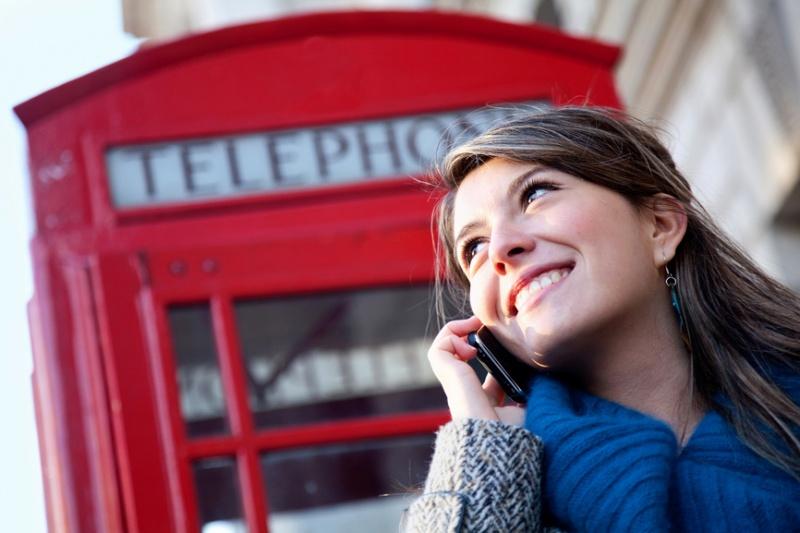 Телефон за границей